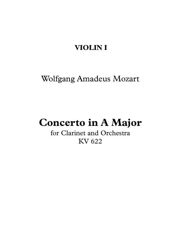 Violin I Page 1