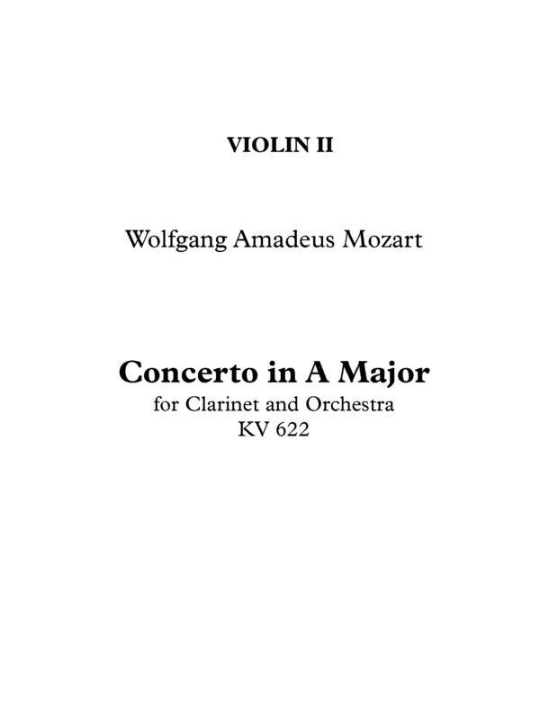 Violin II Page 1
